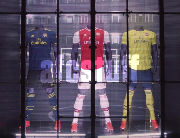 Arsenal 2020 nouveaux maillots foot 19 20 Adidas
