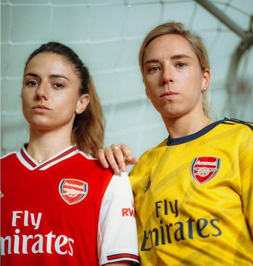 Arsenal nouveau maillot exterieur 2019 2020