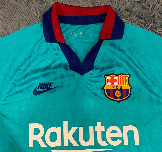 Barcelone 19 20 maillot foot third Nike