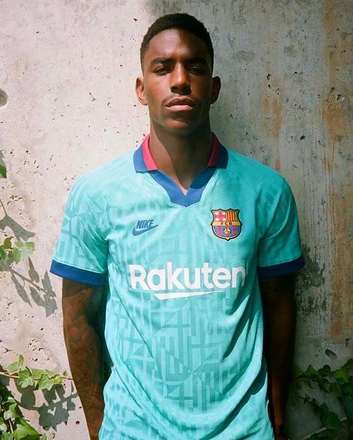 Barcelone 2020 troisieme maillot de football third