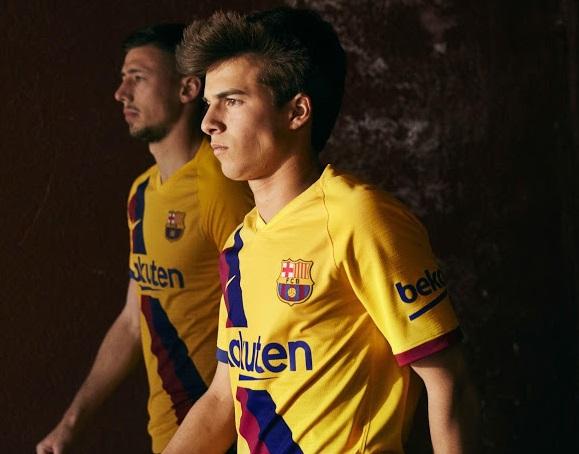 FC Barcelone 2019 2020 nouveau maillot exterieur