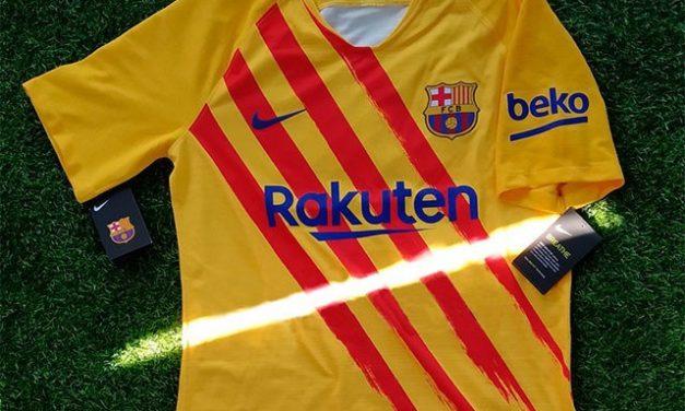 FC Barcelone 2020 les nouveaux maillots de foot 19-20