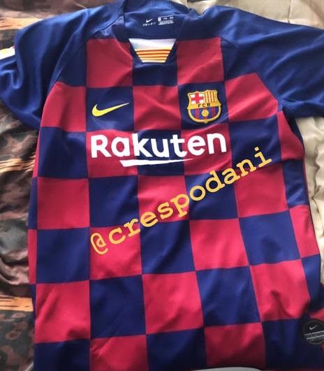 FC Barcelone 2020 maillot domicile 19 20