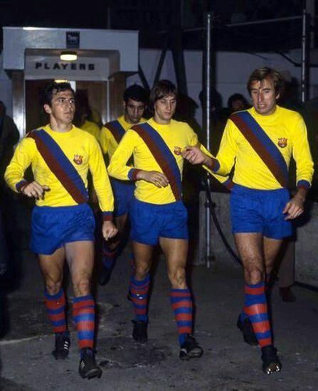 FC Barcelone 2020 maillot extérieur porté 1970