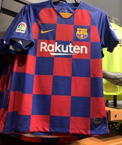 FC Barcelone 2020 maillot football domicile 19 20