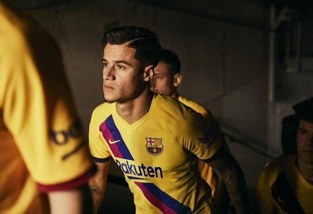 FC Barcelone 2020 nouveau maillot exterieur foot