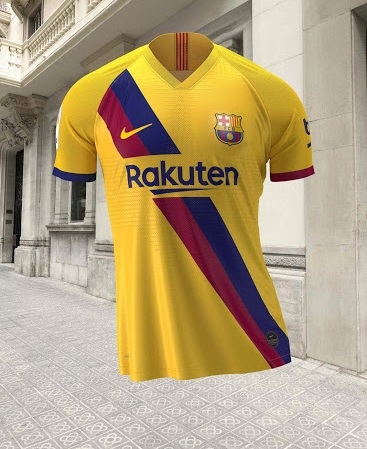 FC Barcelone 2020 nouveau maillot exterieur