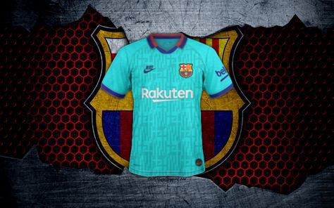 FC Barcelone 2020 nouveau maillot third 19 20 possible