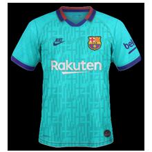 FC Barcelone 2020 nouveau maillot third 19 20