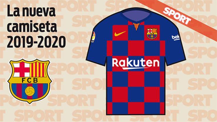 FC Barcelone 2020 possible maillot domicile