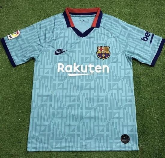 FC Barcelone 2020 troisieme maillot third 19 20