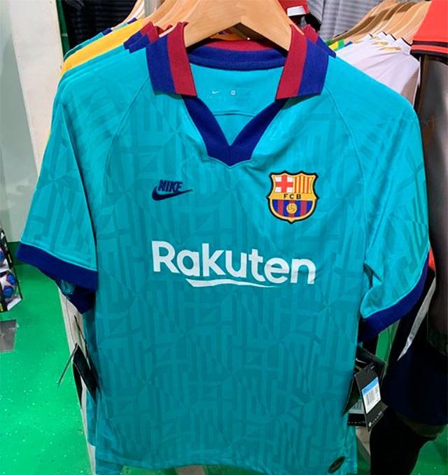 FC Barcelone 2020 troisieme maillot third