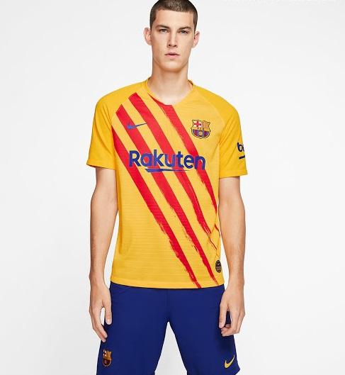 FC Barcelone quatrieme maillot fourth 2019 2020