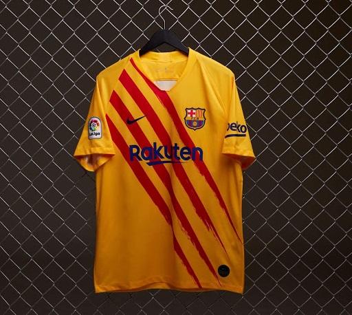 FC Barcelone quatrieme maillot fourth 2020
