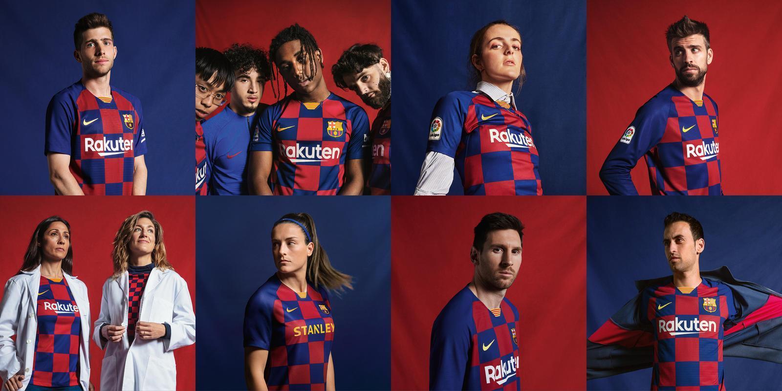 FC barcelone 2020 maillot domicile foot