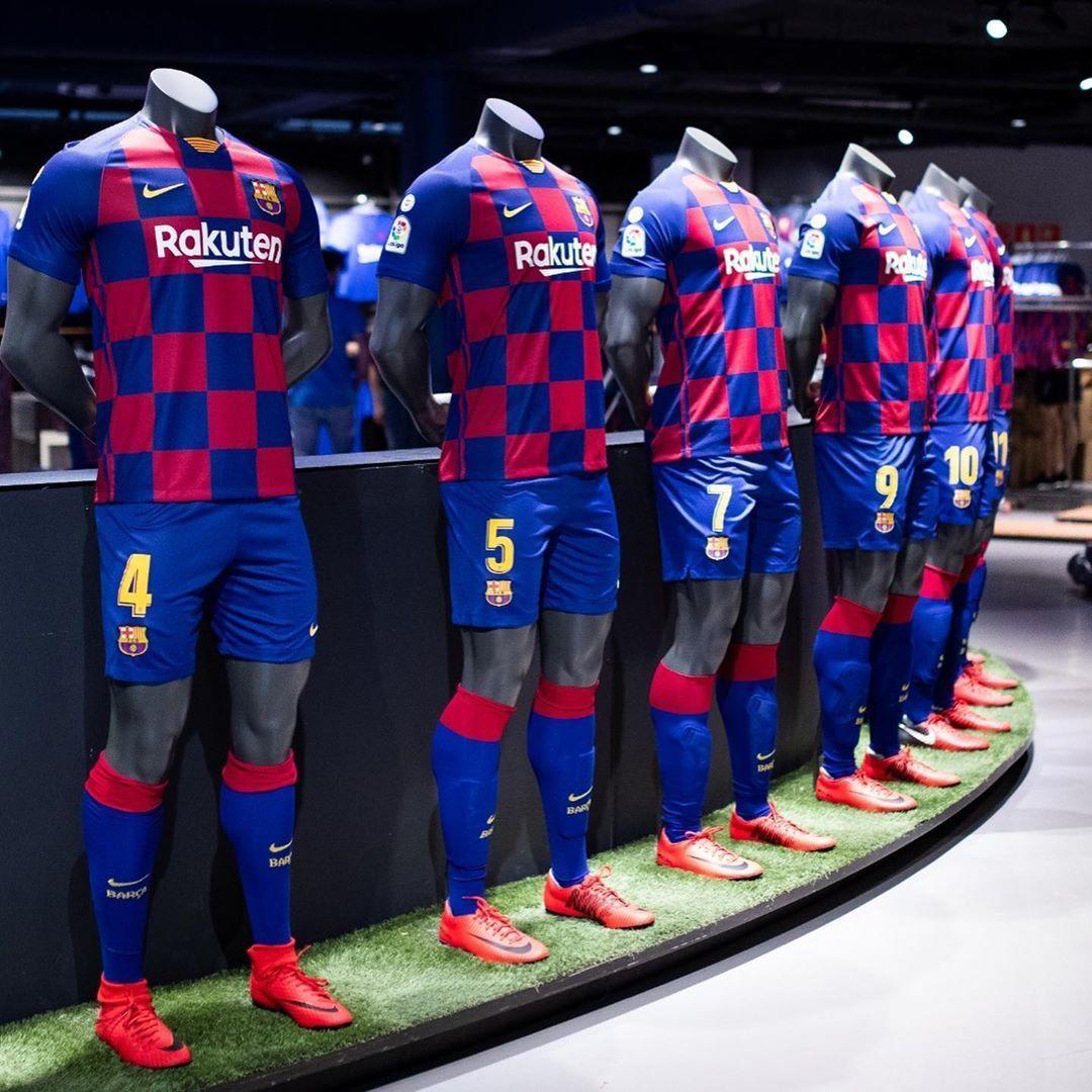 FC barcelone 2020 maillot domicile officiel