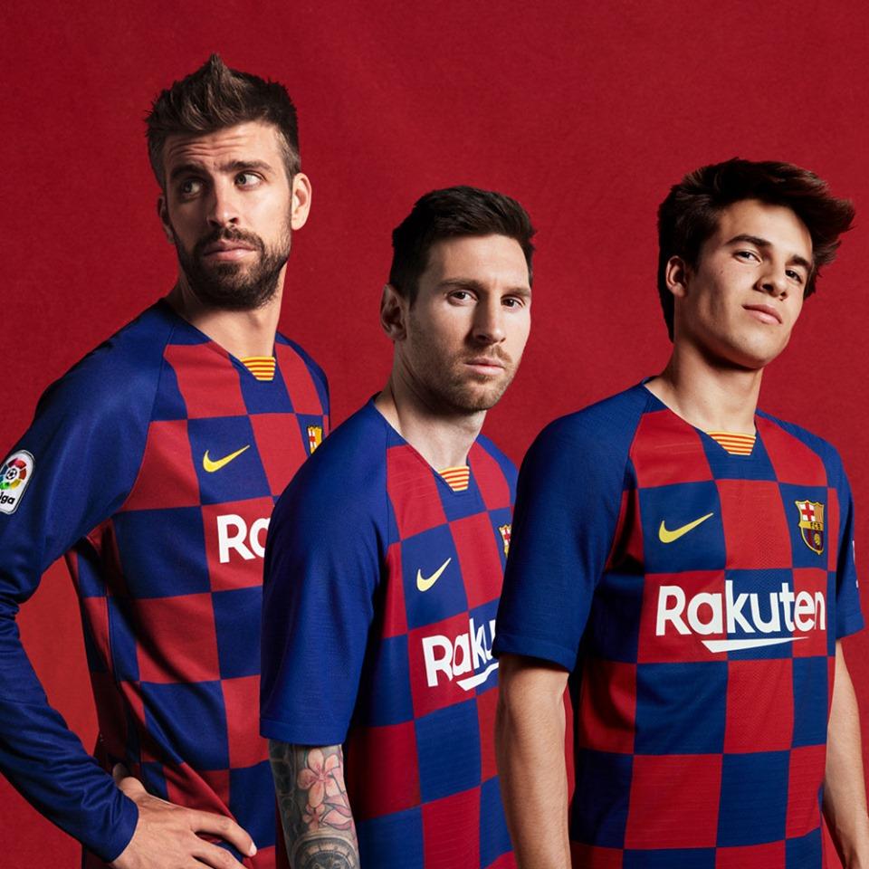 FC barcelone 2020 maillot domicile