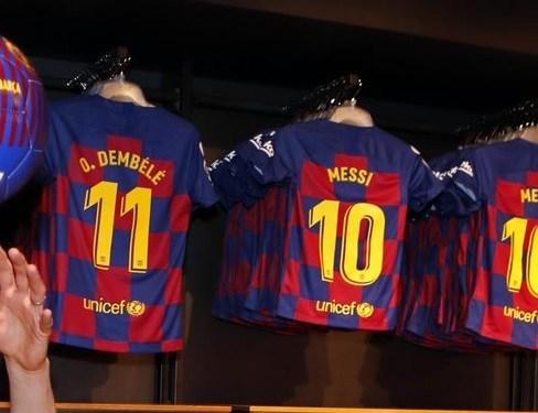FC barcelone 2020 nouveau maillot domicile