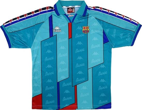 FCB maillot retro 1990 inspiration 2020