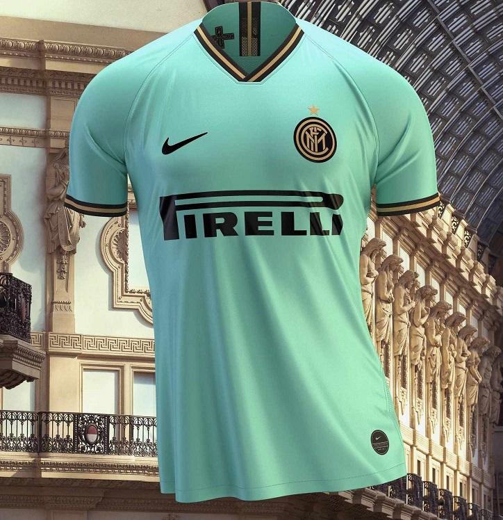Inter Milan 2019 2020 nouveau maillot exterieur officiel