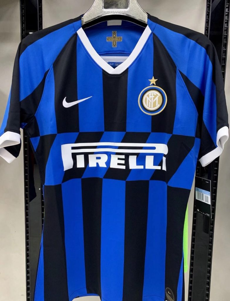 Inter Milan 2019 2020 maillot domicile football