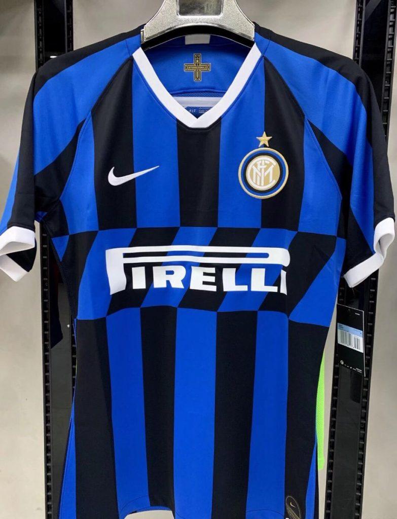 Inter Milan 2019 2020 maillot domicile football