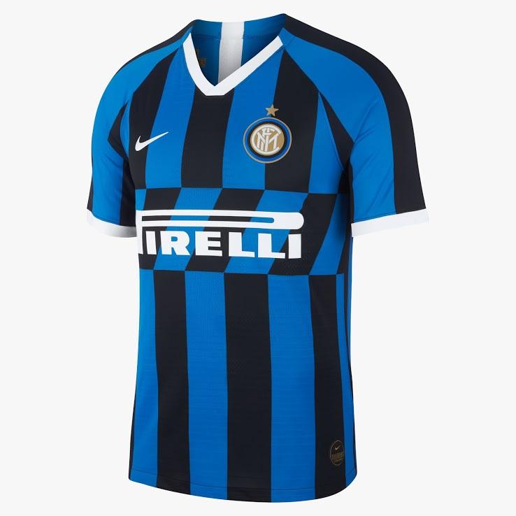 Inter Milan 2020 maillot domicile football