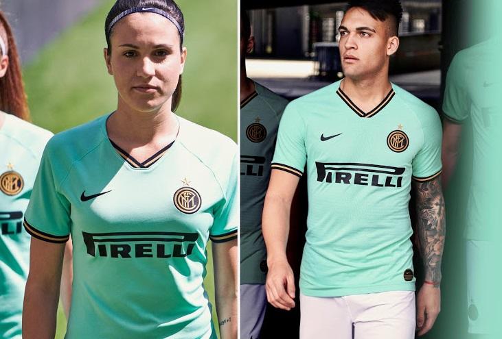 Inter Milan 2020 maillot exterieur foot Nike