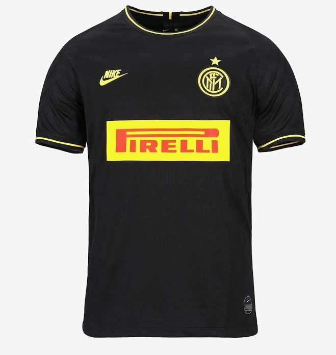 Inter Milan 2020 nouveau 3eme maillot third foot officiel