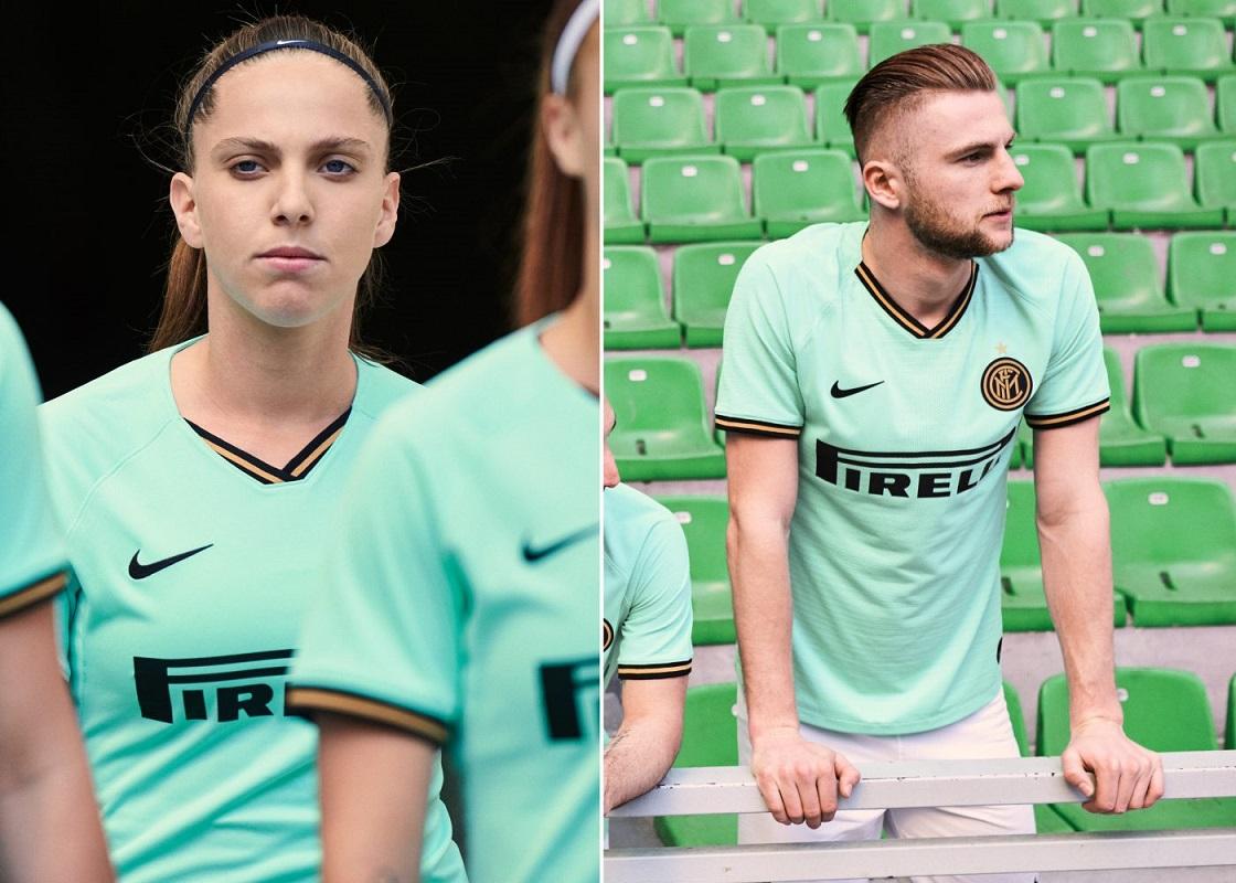Inter Milan 2020 nouveau maillot exterieur football