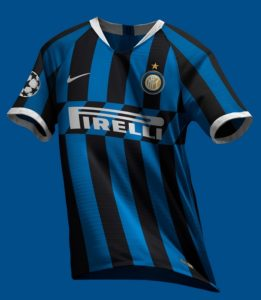 Inter Milan 2020 possible maillot domicile football
