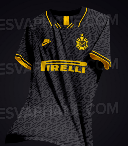 Inter Milan 2020 possible maillot foot third