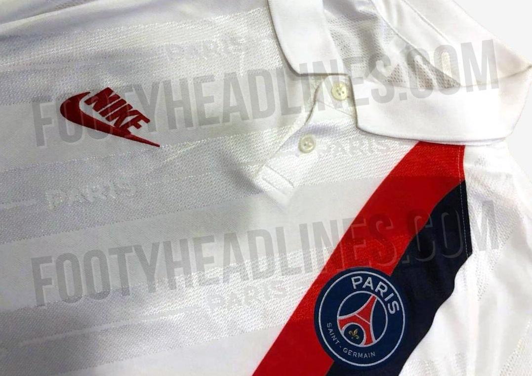 PSG 19 20 troisieme maillot third détails