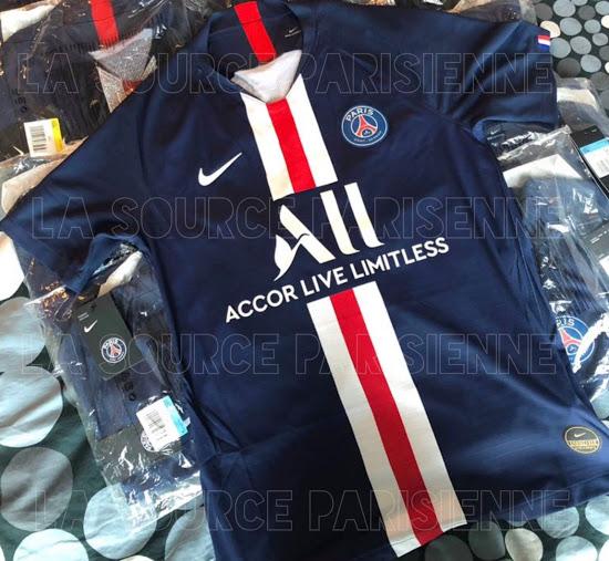 PSG 2019-2020 maillot de football domicile Paris-Saint-Germain