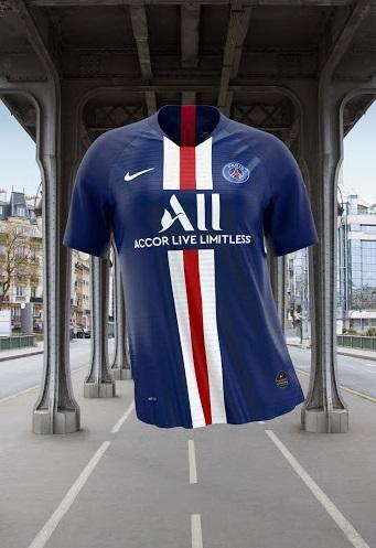 PSG 2019 2020 nouveau maillot de foot