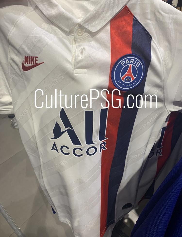 PSG 2020 3eme maillot foot third Nike