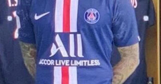 PSG 2020 nouveau maillot de foot Nike 19 20 Paris