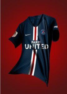 PSG 2020 prediction maillot foot domicile 19 20