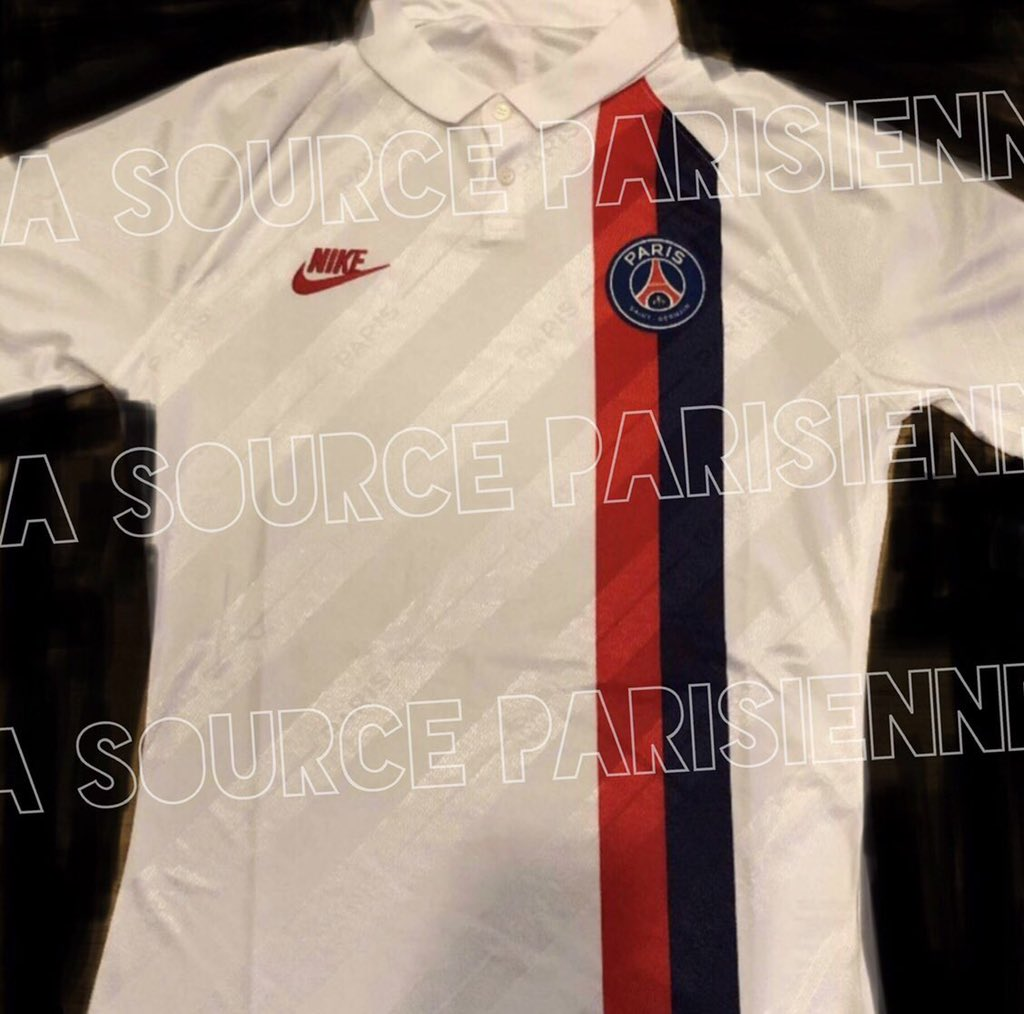 PSG 2020 troisieme maillot third Paris