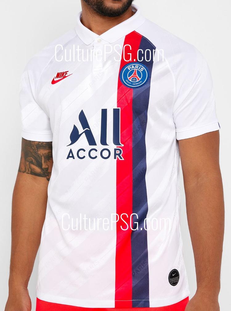Paris Saint Germain 2020 3eme maillot football third Nike