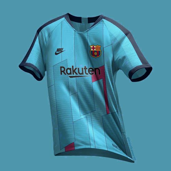 prédiction FC Barcelone 2020 maillot third