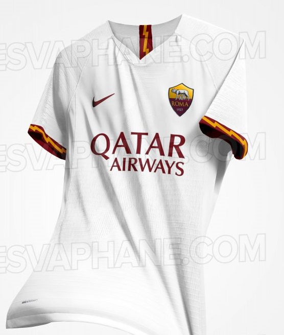 AS Roma 2020 possible maillot exterieur
