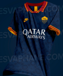 AS Roma 2020 possible maillot third