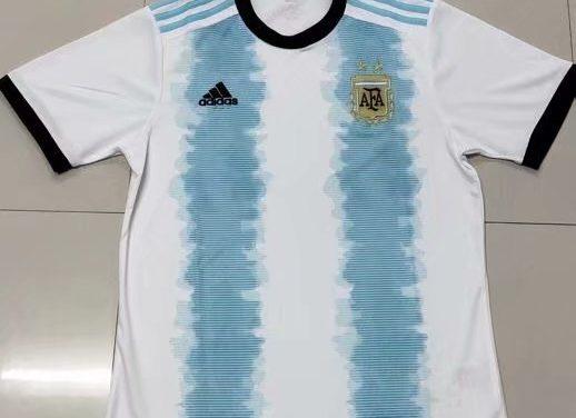 Argentine 2019 nouveaux maillots pour la Copa America 2019