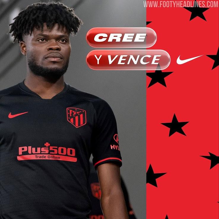 Atletico Madrid 2019 2020 nouveau maillot exterieur officiel