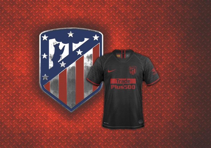 Atletico Madrid 2020 nouveau maillot exterieur foot noir Nike
