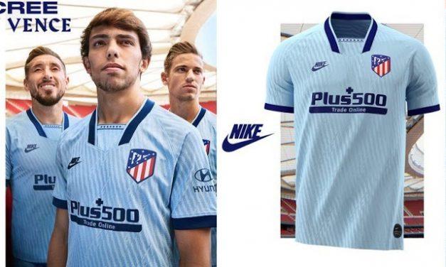 Atletico Madrid 2020 les 3 nouveaux maillots de football 19-20 de Nike