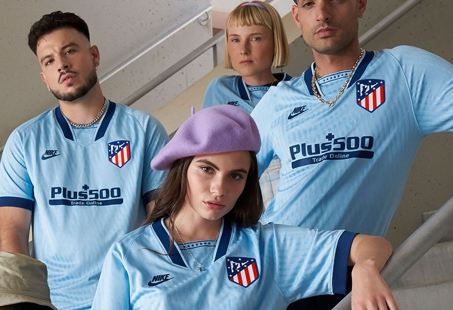 Atletico Madrid 2020 nouveau maillot third football Nike