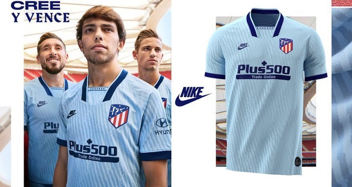 Atletico Madrid 2020 nouveau maillot third Nike officiel
