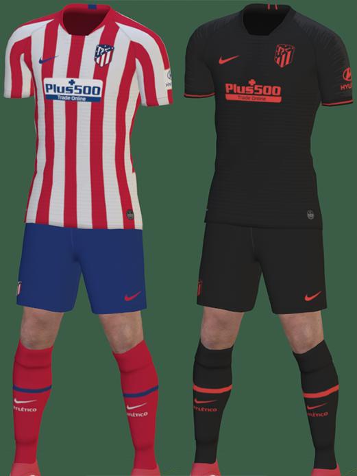 Atletico Madrid 2020 nouveaux maillots de football